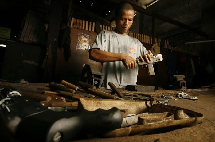 Gun making industry, Danao, Philippines