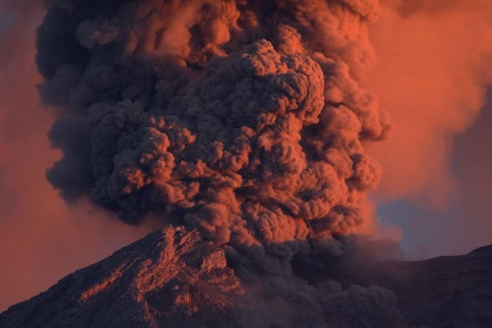 Volcano photography by Martin Rietze