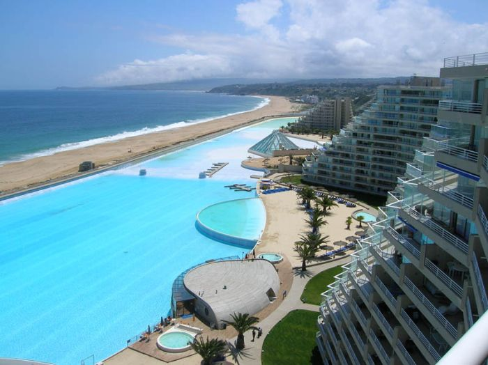 San Alfonso del Mar pool and resort, Algarrobo, Chile