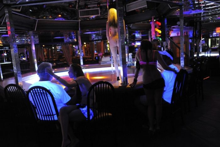 Mons Venus nude strip club, Tampa, Florida, United States