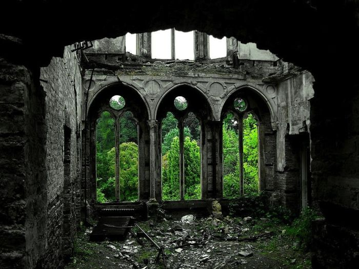 abandoned places around the world