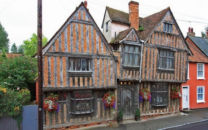 Lavenham village, Suffolk, England, United Kingdom