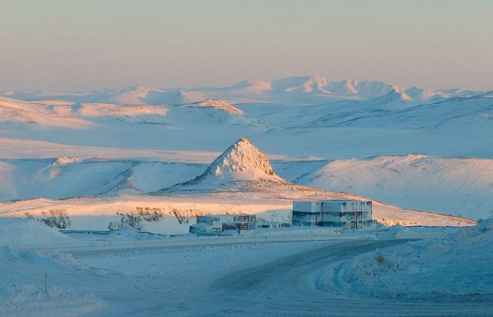 Kupol Gold Mine, Bilibinsky District, Chukotka, Siberia, Russia