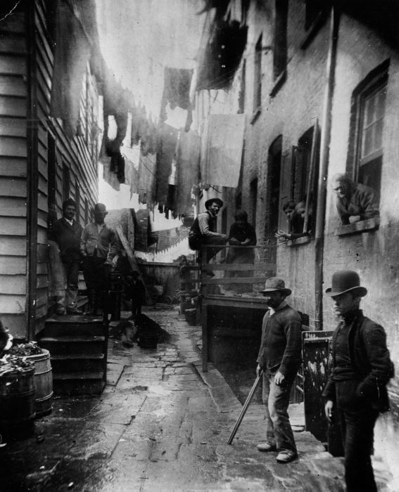 History: Life in the New York City, 19th century, United States