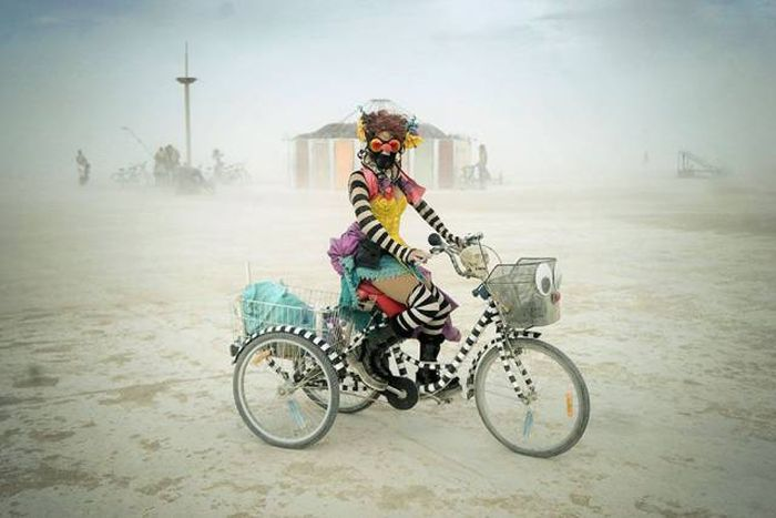 Burning man 2016, Black Rock Desert, Nevada, United States
