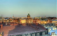 World & Travel: Morning in St. Petersburg, Russia