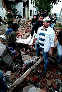 Trek.Today search results: Earthquake in Chile, South America
