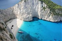 Trek.Today search results: Shipwreck Cove, Navagio Beach on Zakynthos Island, Greece