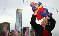 Trek.Today search results: Super hero world record attempt, Federation Square in Melbourne, Australia