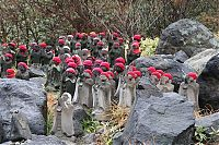 Trek.Today search results: Jizo statues near volcano, Japan