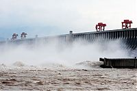 Trek.Today search results: Three Gorges Dam control test, Yangtze River, Sandouping, China