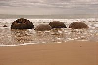 Trek.Today search results: Moeraki Boulders, Koekohe Beach, Otago coast, New Zealand