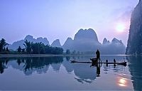 Trek.Today search results: Lake landscape, China