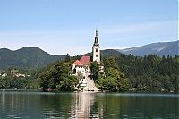 World & Travel: Lake Bled island