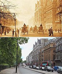 Trek.Today search results: History: London then and now, 1897-2012, England, United Kingdom