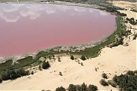 Lake Retba, Lac Rose, Dakar, Senegal