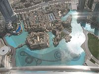 Trek.Today search results: Record fountain system set, Burj Khalifa Lake, Dubai, United Arab Emirates