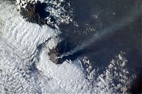 Trek.Today search results: volcano from space