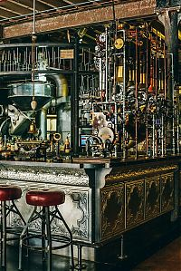 Trek.Today search results: Truth Coffee, Steampunk Coffee Contraption, 36 Buitenkant Street, Cape Town, South Africa