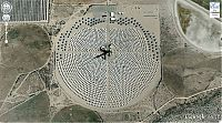 Interesting places on Google Earth
