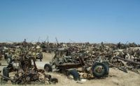 Trek.Today search results: Highway of Death tank graveyard, Highway 80, Kuwait City, Kuwait