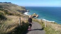 Trek.Today search results: Tunnel Beach by John Cargill, Dunedin, New Zealand