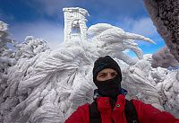 Trek.Today search results: Extreme windswept ice formations by Marko Korošec, Mount Javornik, Dinarides, Slovenia