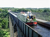 Pontcysyllte Aqueduct, Llangollen Canal, Wrexham County Borough, Wales, United Kingdom