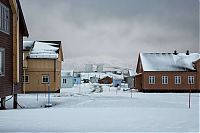 World & Travel: Ny-Ålesund, Oscar II Land, Spitsbergen, Svalbard, Norway