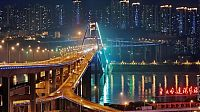 World & Travel: Caiyuanba Bridge, Yangtze River, Chongqing, China