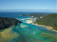 Trek.Today search results: Awaroa Bay beach, Abel Tasman National Park, New Zealand, South Pacific Ocean