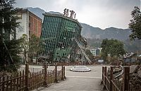 Beichuan Earthquake Museum, Beichuan County, Sichuan, China