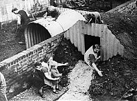 Trek.Today search results: History: World War II photography, Anderson shelter