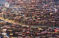 Larung Gar Valley, Sêrtar County of Garzê, Tibet, Kham, China