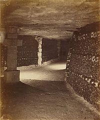 Trek.Today search results: Mines of tunnel network, Catacombes de Paris, Paris, France