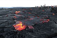 Kilauea volcano. Hawaiian Islands, United States