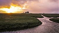 World & Travel: The Halligen islands, North Frisian Islands, Nordfriesland, Germany