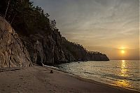 World & Travel: Peschanaya bay, Khuzhirskiy, Irkutsk Oblast, Russia